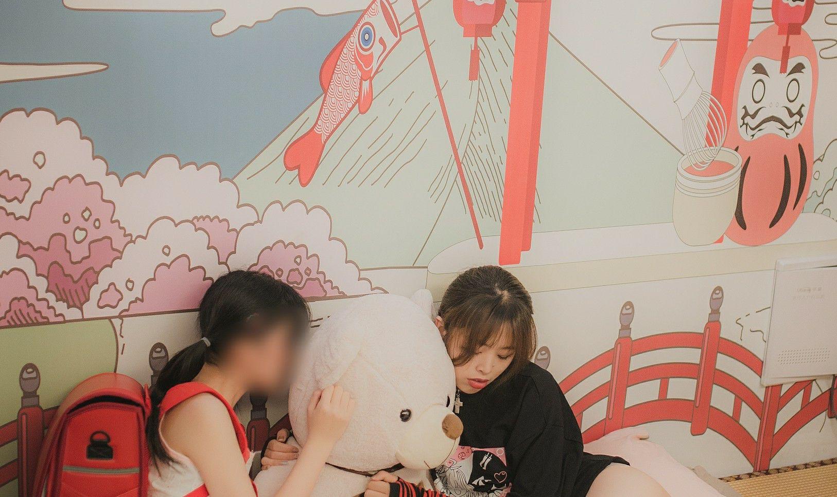 柚木写真x杪夏 - 過激な姉妹H行爲